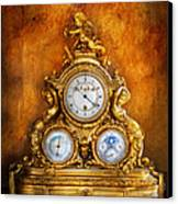 Clockmaker - Anyone Have The Time Canvas Print by Mike Savad