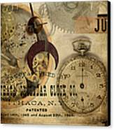 Clockworks Canvas Print by Fran Riley