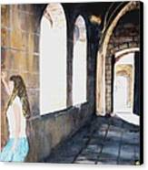 Cloisters Canvas Print