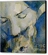 Close My Eyes Lullaby Me To Sleep Canvas Print