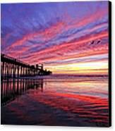 Cloud Color Waves Canvas Print