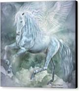 Cloud Dancer Canvas Print by Carol Cavalaris