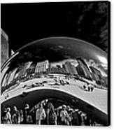Cloud Gate Chicago - The Bean Canvas Print by Christine Till