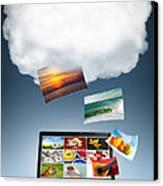 Cloud Technology Canvas Print by Carlos Caetano
