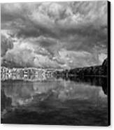 Clouds Over Crystal Lake Canvas Print by Kevin Kludy