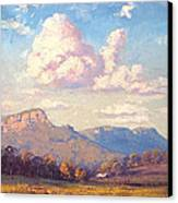 Clouds Over Megalong Canvas Print by Graham Gercken