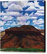 Clouds Over Red Mesa Canvas Print