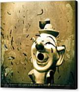 Clown Games  Canvas Print by Colleen Kammerer