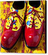 Clown Shoes And Balls Canvas Print by Garry Gay