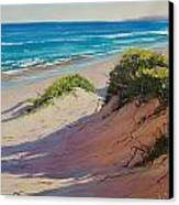 Coastal Sand Canvas Print by Graham Gercken