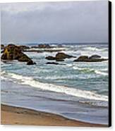 Coastal Serenity  Canvas Print by Heidi Smith