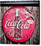 Coca Cola Canvas Print by Merrick Imagery
