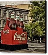 Coca-cola Canvas Print by Wayne Gill