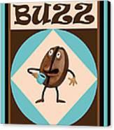 Coffee Buzz Canvas Print by Amy Vangsgard