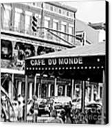 Coffee And Beignets Canvas Print
