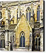 Collegiate St-martin Canvas Print by Richard J Thompson