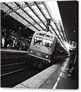 Cologne Trainstation Canvas Print by Jimmy Karlsson