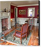 Colonial Parlor Canvas Print by Olivier Le Queinec