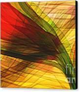 Color Flow Canvas Print by Hilda Lechuga