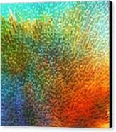 Color Infinity - Abstract Art By Sharon Cummings Canvas Print by Sharon Cummings