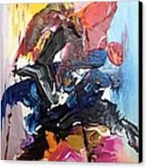 Color Jumble Canvas Print