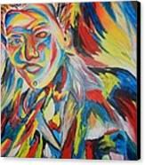 Color Portrait Canvas Print by Juan Molina