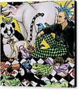 Color Scheme Canvas Print by Julie McDoniel
