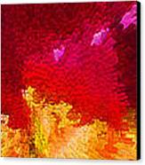 Color Shock 4 - Vibrant Digital Painting Canvas Print by Sharon Cummings