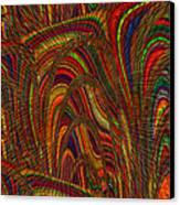 Color World Canvas Print by Elizabeth S Zulauf