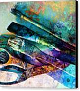 Color Your World Canvas Print by Ann Powell