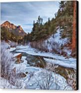 Colorado Creek Canvas Print by Darren  White