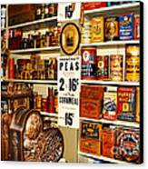 Colorado General Store Supplies Canvas Print