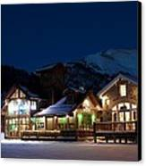 Colorado Mountain Life Canvas Print by Michael J Bauer