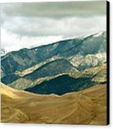 Colorado Mountain View Canvas Print by Eva Kato