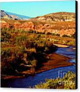 Colorado River Canvas Print by Eva Kato