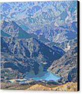 Colorado River View Canvas Print