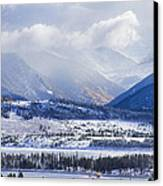 Colorado Rocky Mountain Autumn Storm Canvas Print