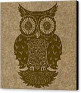 Colored Owl 3 Of 4  Canvas Print