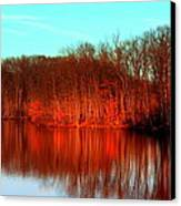 Colorful Afternoon Canvas Print by Jose Lopez