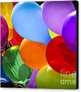 Colorful Balloons Canvas Print