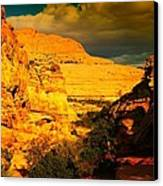 Colorful Capital Reef Canvas Print by Jeff Swan