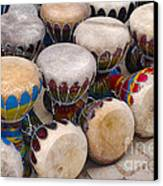 Colorful Congas Canvas Print
