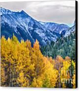 Colorful Crested Butte Colorado Canvas Print