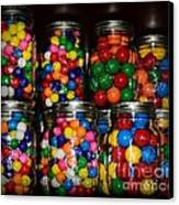 Colorful Gumballs Canvas Print by Paul Ward