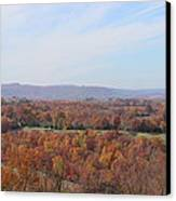 Colors Across The Valley. Canvas Print by Edward Hamilton