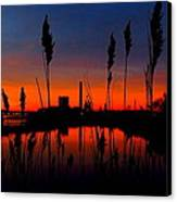 Colors In The Sky Canvas Print by Stephen Melcher