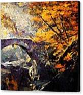 Colors Of Autumn Canvas Print by Gun Legler