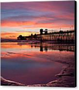 Colors Of The Night Canvas Print by Julianne Bradford