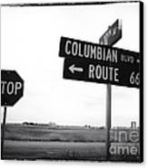 Columbian Boulevard Canvas Print