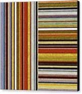 Comfortable Stripes Lx Canvas Print by Michelle Calkins